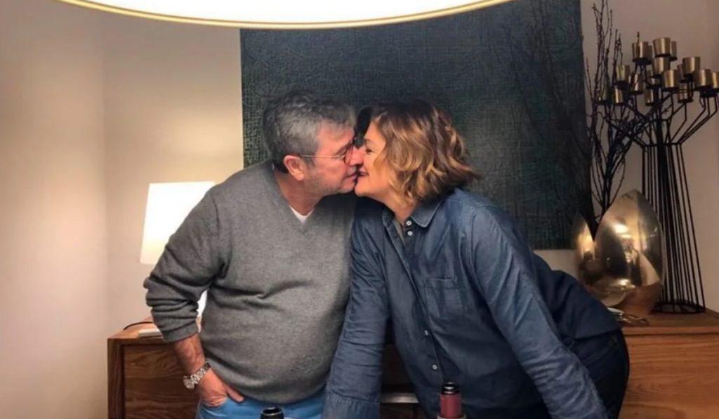 Júlia Pinheiro com o marido, Rui Pêgo