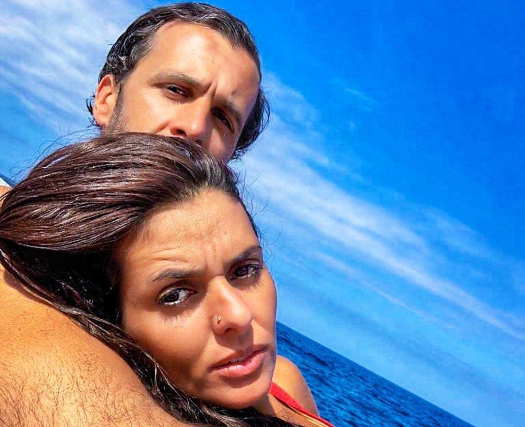 Cuca Roseta e o marido, João Lapa