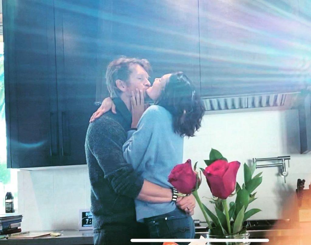 Daniela Ruah com o marido, David Olsen