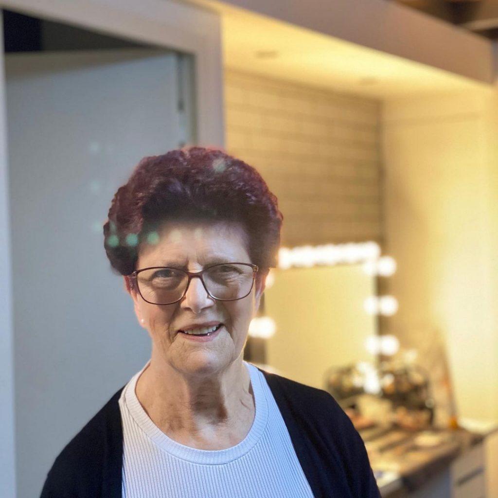 A avó materna de Marco Costa, Alcina Silva