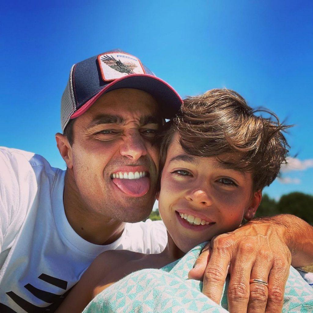 Ricardo Pereira e o filho, Vicente