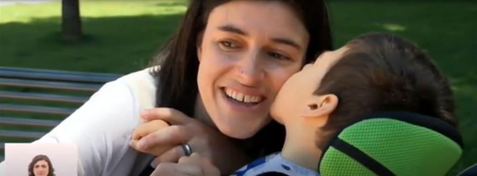 A mãe, Cristina e Rui Mário