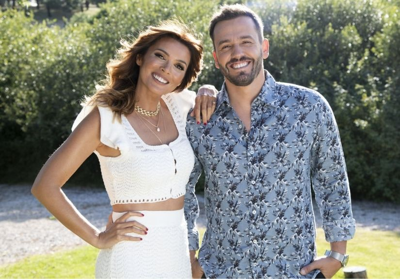 """Maria Cerqueira Gomes e Pedro Teixeira em """"O Amor Acontece"""""""