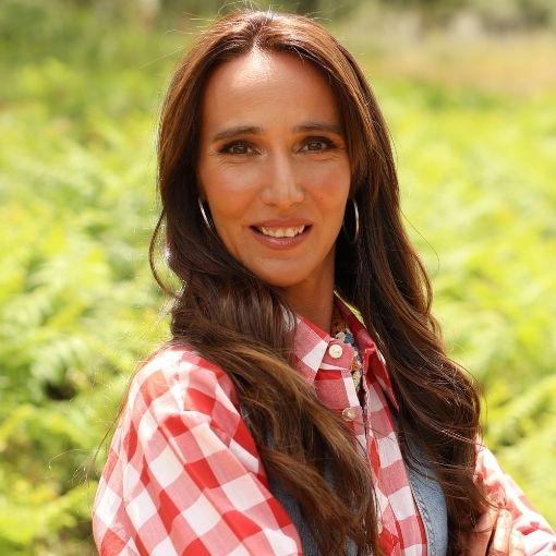 A agricultora Ana Palma