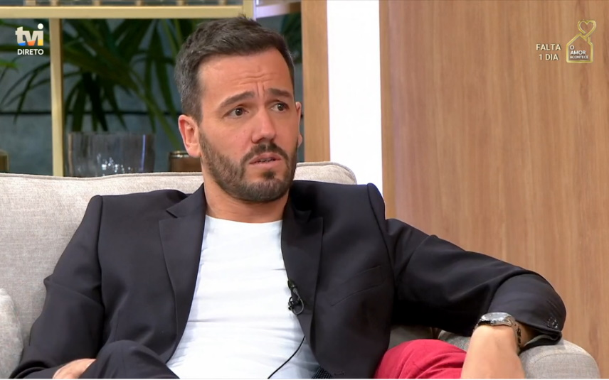 """Pedro Teixeira no programa da TVI """"Em Família"""""""