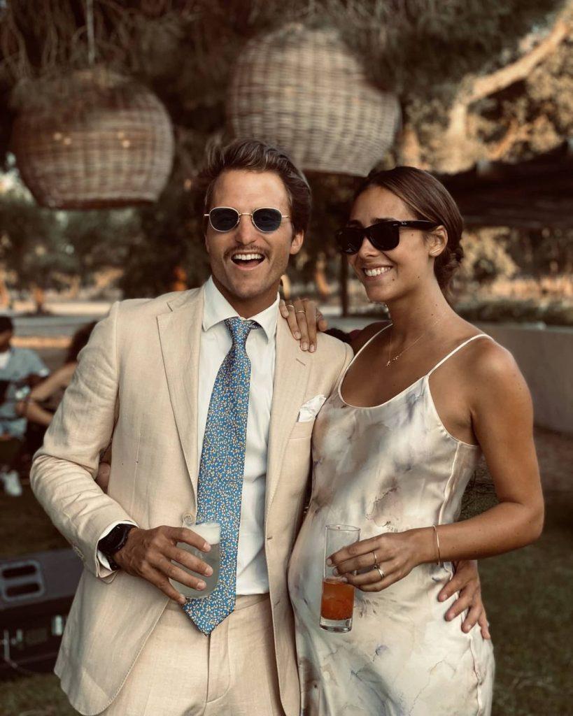 Tiago Teotónio Pereira e Rita Patrocínio são pais de Camila