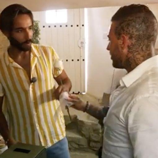 """Paulo Valter com o jovem com quem vai participar em """"O Amor Acontece"""""""