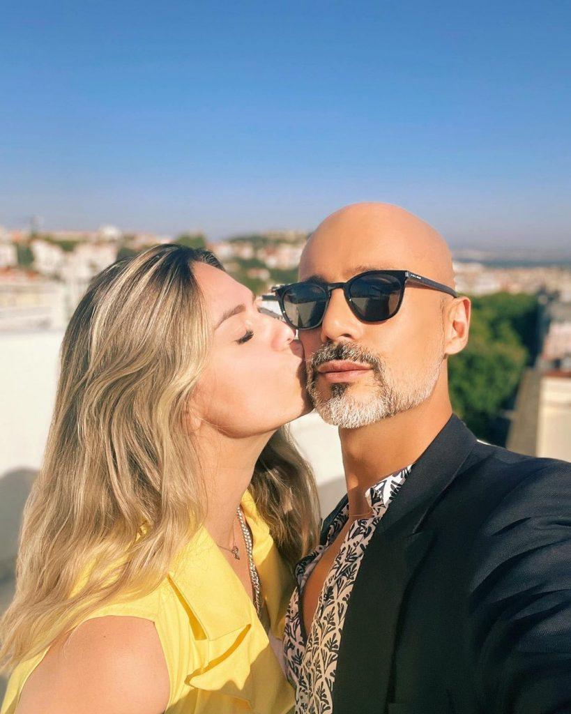 """Ana Barbosa, concorrente do """"Big Brother"""", com Pedro Crispim"""