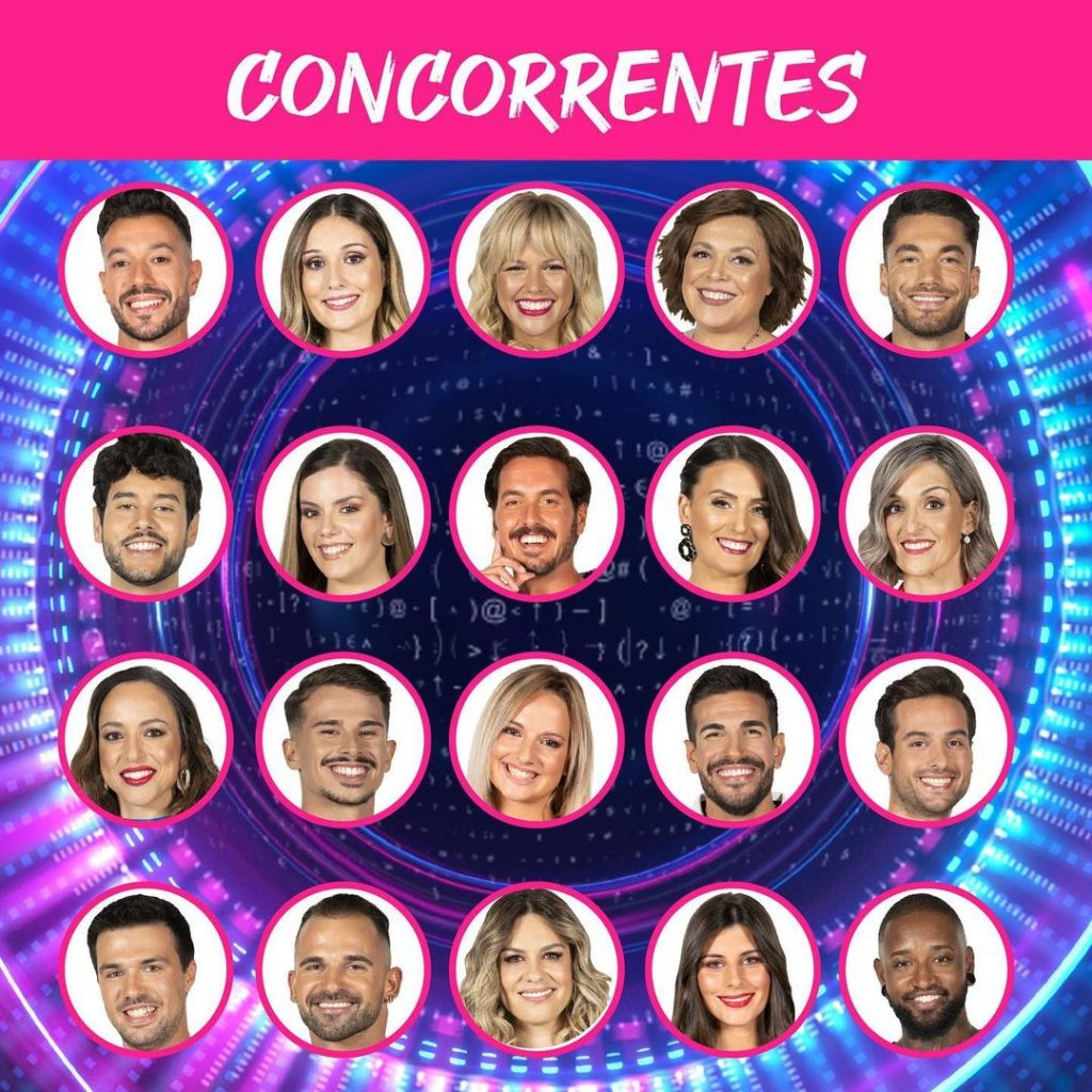 """Os concorrentes do """"Big Brother"""""""