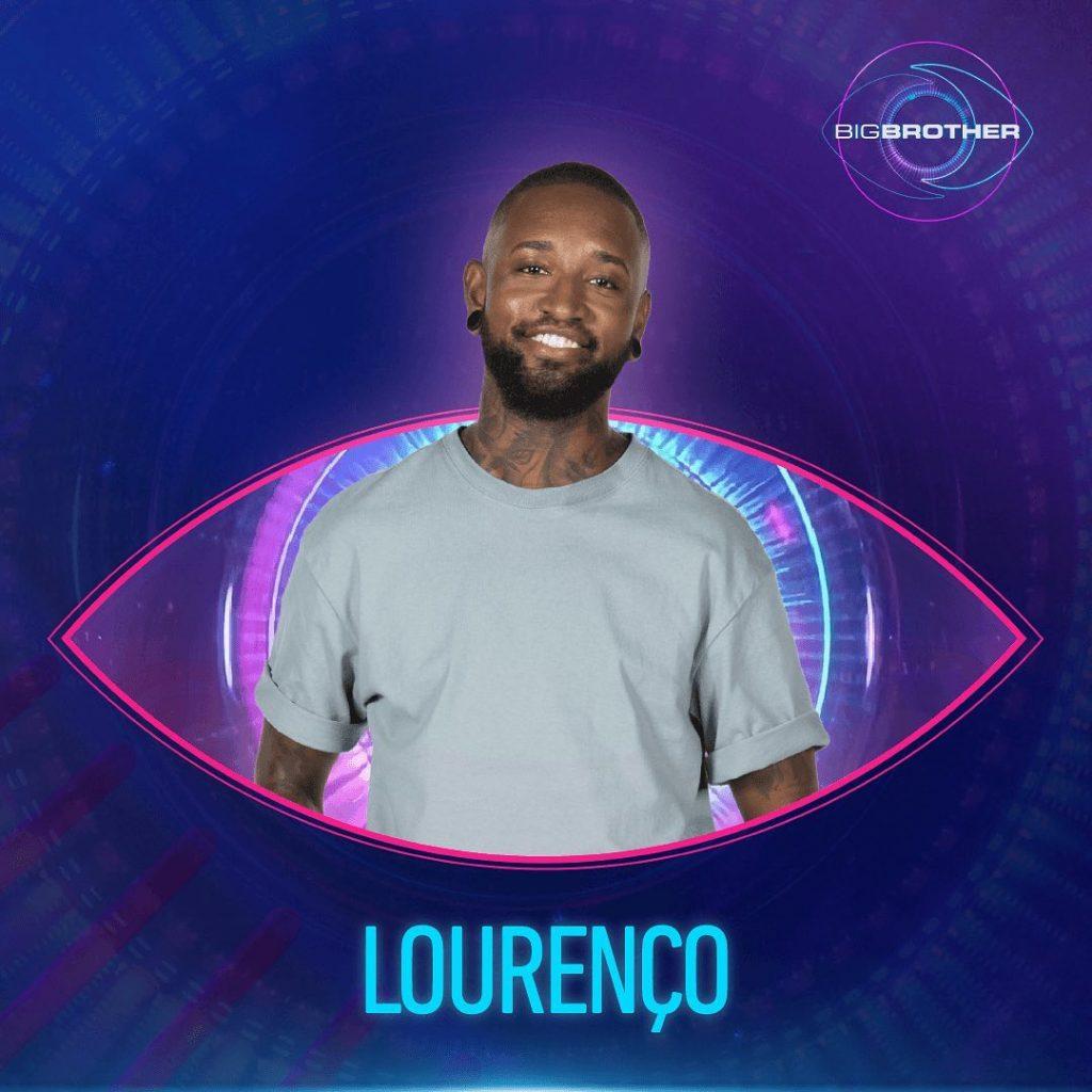 """Lourenço Barcelos, concorrente do """"Big Brother"""""""