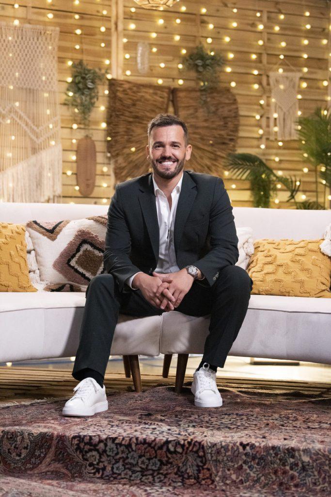 """Pedro Teixeira no reality show da TVI """"O Amor Acontece"""""""