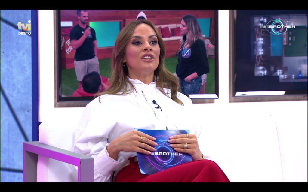 """Helena Isabel comentou o visual de Rui Pinheiro na gala de estreia do """"Big Brother"""" e destacou o """"saco de gomas no meio das pernas"""" do concorrente..."""