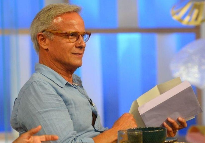 """Ricardo Carriço recebeu uma carta assinada pela mulher, Ana Rebelo, durante a sua passagem pelo programa da TVI """"Dois às 10"""""""