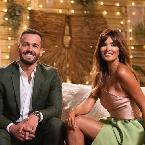 """Pedro Teixeira e Maria Cerqueira Gomes no reality show da TVI """"O Amor Acontece"""""""