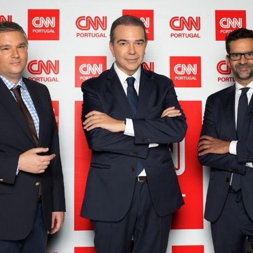 Nuno Santos foi oficializado como diretor da CNN Portugal, com Frederico Roque de Pinho e Pedro Santos Guerreiro como diretores-executivos