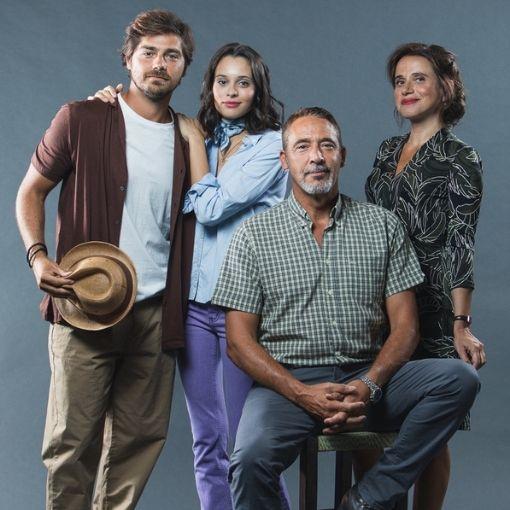 """Lourenço Ortigão, Daniela Melchior, Diogo Infante e Dalila Carmo na minissérie da TVI """"Pecado"""""""