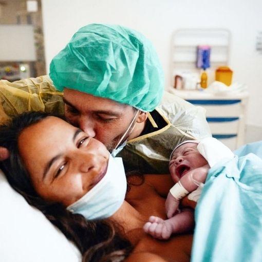 Sara Matos e Pedro Teixeira com o primeiro filho em comum, Manuel