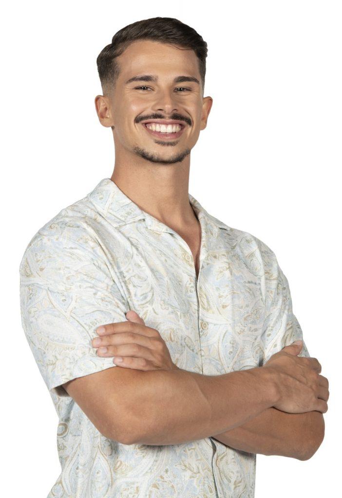 """Fábio Faísca, concorrente do """"Big Brother"""""""