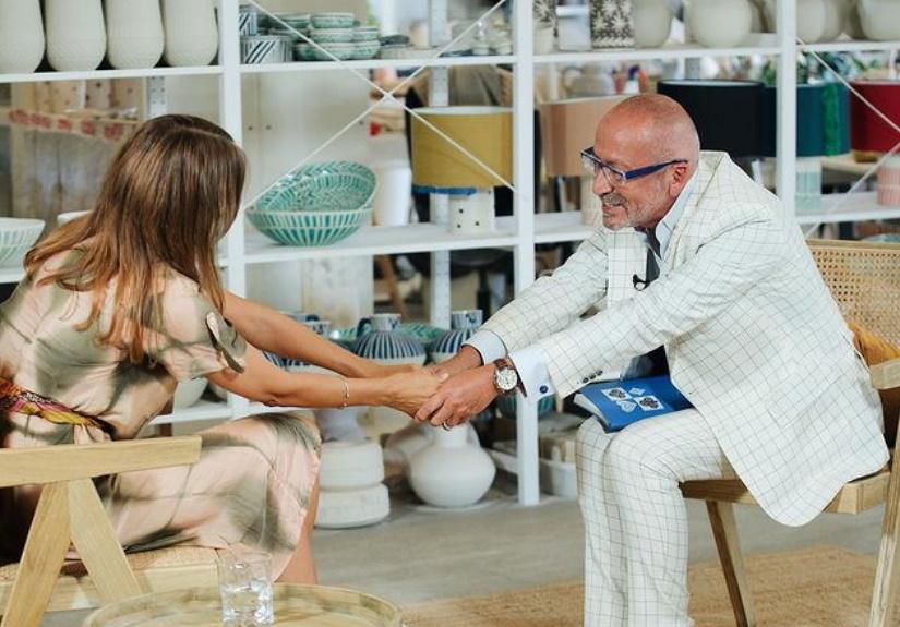 Anna Westerlund fala sobre Pedro Lima em entrevista a Goucha
