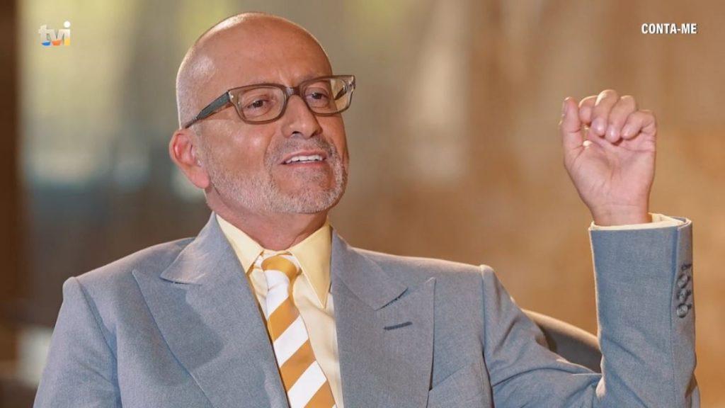 Luís Osório em entrevista a Goucha