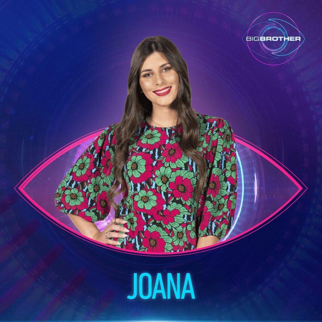 "Joana Schreyer, concorrente do ""Big Brother"""