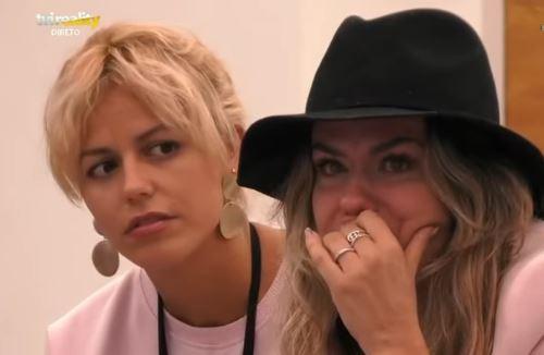 Ana Barbosa desfaz-se em lágrimas no Big Brother