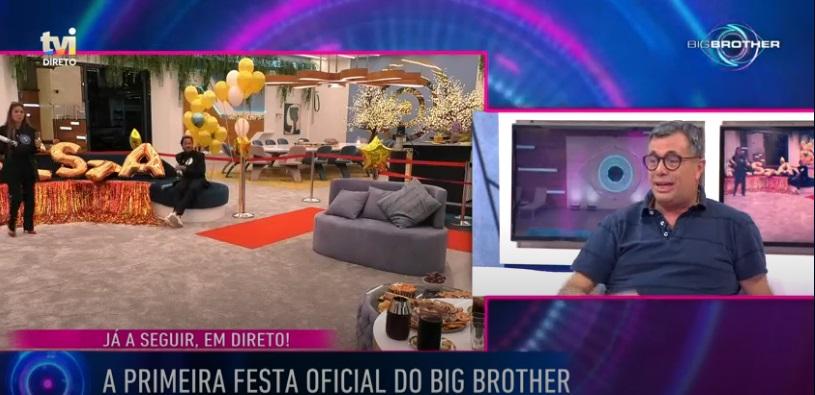 Quintino Aires foi afastado do Big Brother