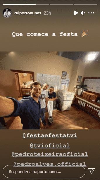 """Rui Porto Nunes vai entrar na segunda temporada de """"Festa é Festa"""", da TVI"""