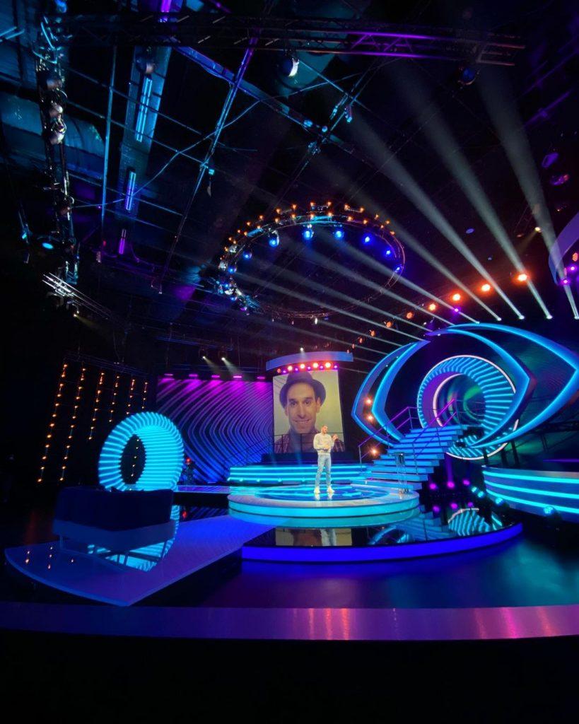 """O estúdio do """"Big Brother"""""""