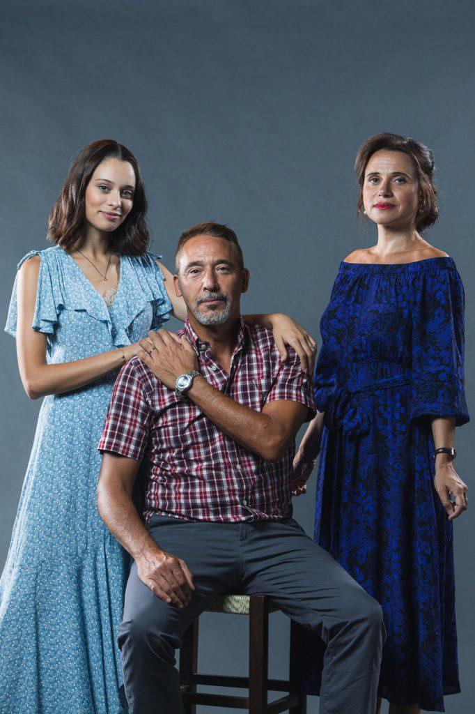 """Daniela Melchior, Diogo Infante e Dalila Carmo na minissérie da TVI """"Pecado"""""""