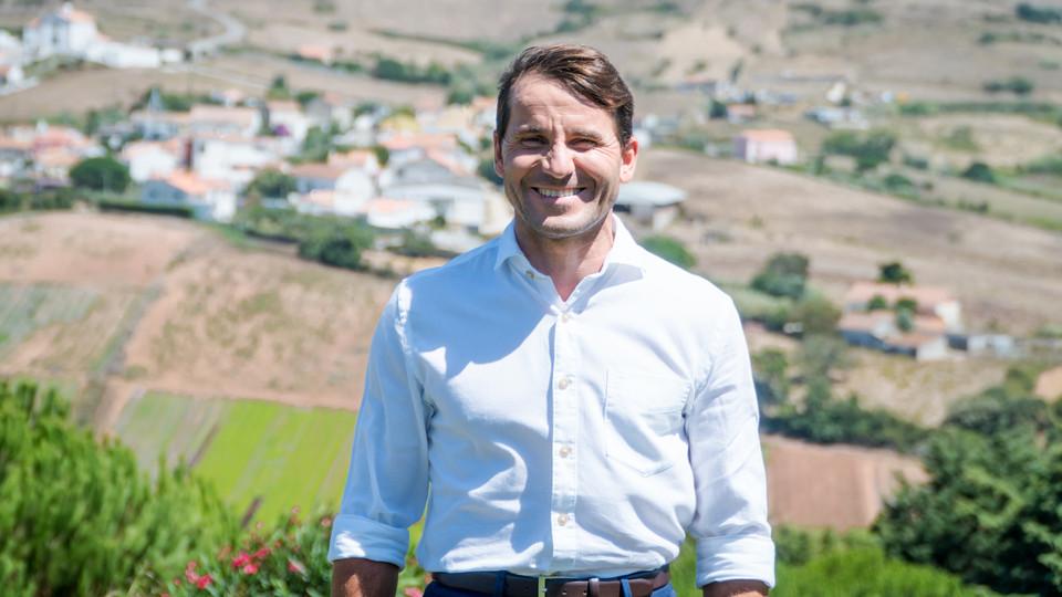 O agricultor Francisco Martins