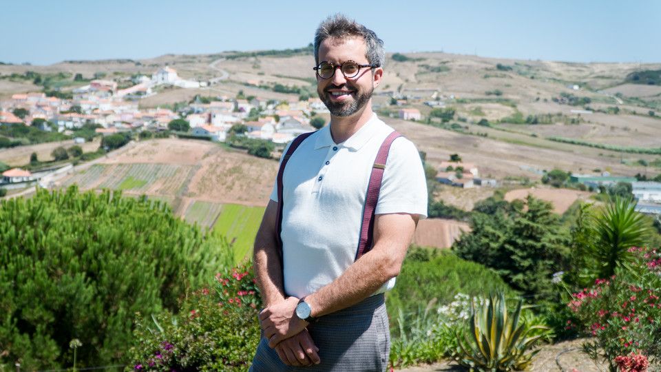 O agricultor João Menezes