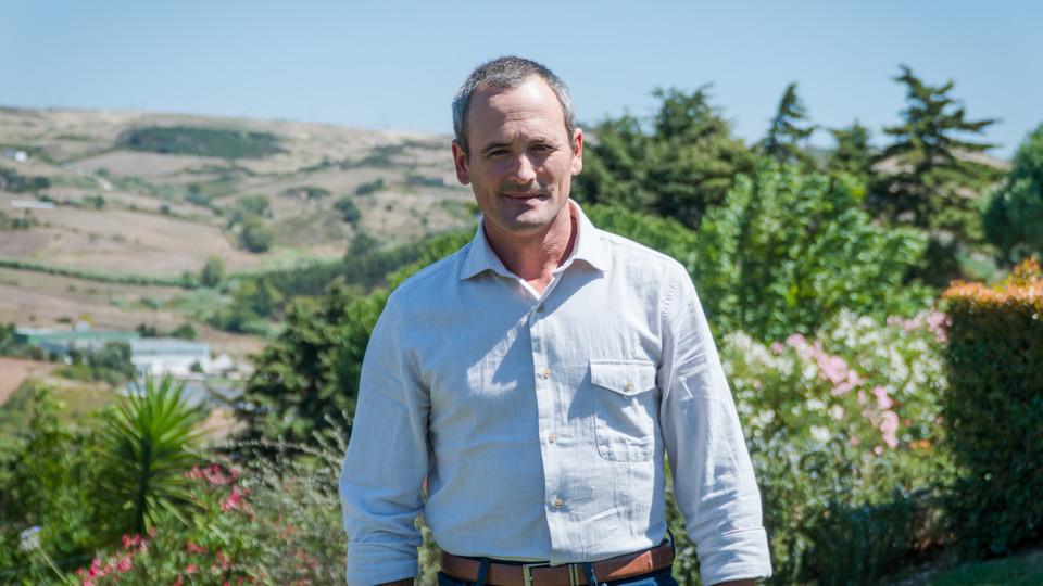 O agricultor Ivo Pires