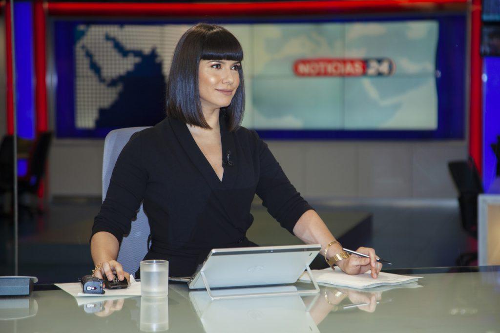 A jornalista da TVI Maria João Rosa