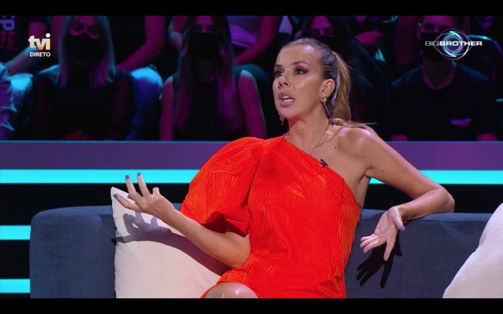 """Ana Garcia Martins, mais conhecida como A Pipoca Mais Doce, no reality show da TVI """"Big Brother"""""""