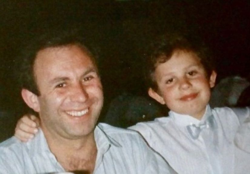 João Paulo Rodrigues e o pai