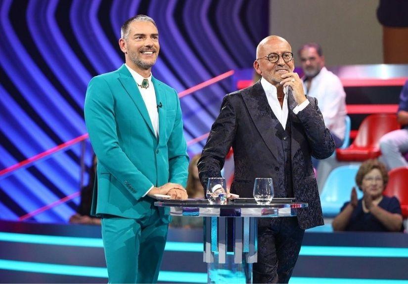 """Cláudio Ramos e Manuel Luís Goucha no reality show da TVI """"Big Brother"""""""