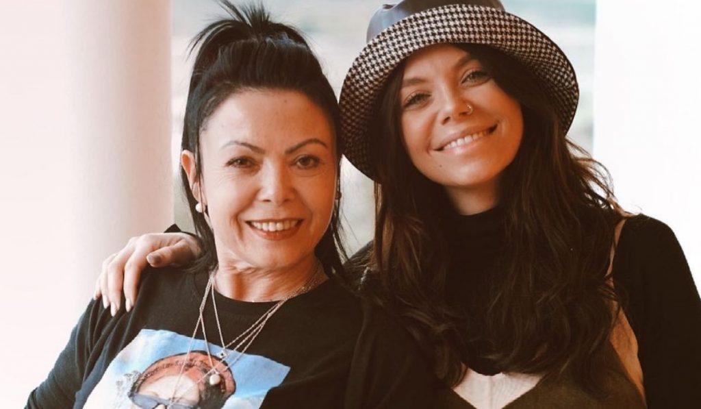 Mel Jordão e a mãe, Ivone Adriano