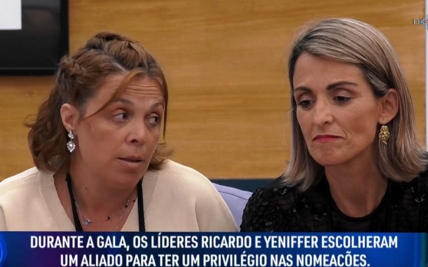 Yennifer e Maria da Conceição tiveram um bate boca no Big Brother