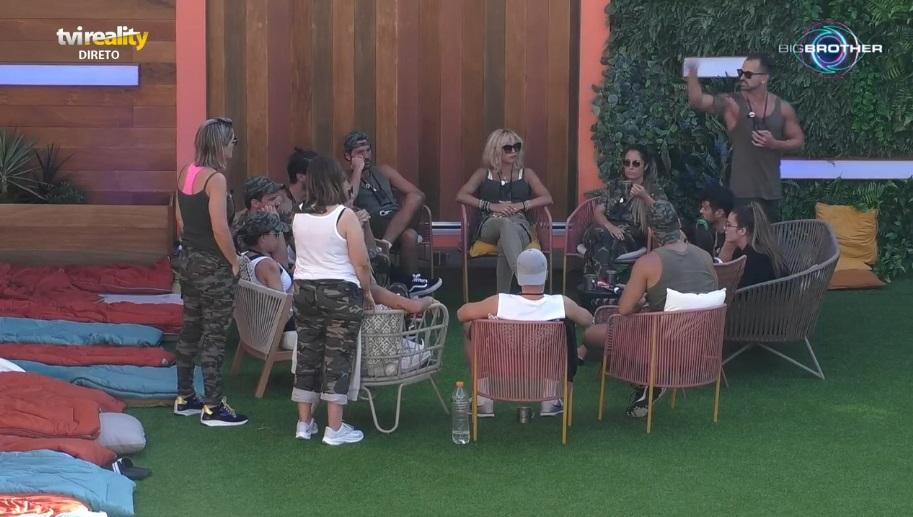 """O ambiente no """"Big Brother"""" aqueceu com uma acesa discussão entre Bruno Almeida,Ana Morinae Rafael Teixeira"""
