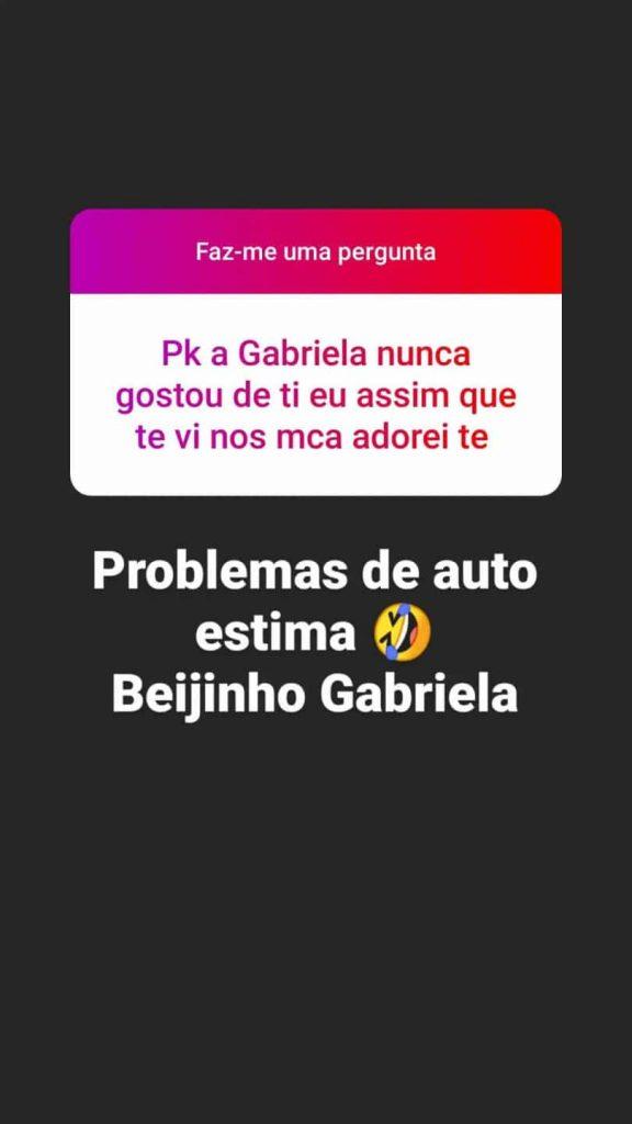 Gabriela Barros viu o seu nome ser novamente ligado à guerra com a também ex-moranguita Sofia Baltar