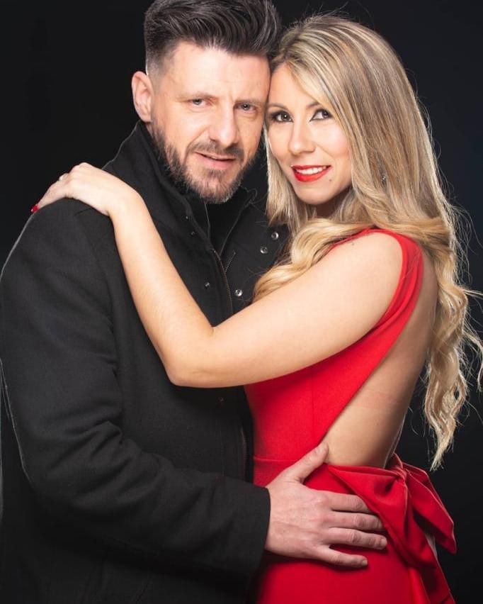 Tony Lemos e a mulher, Marta Silva