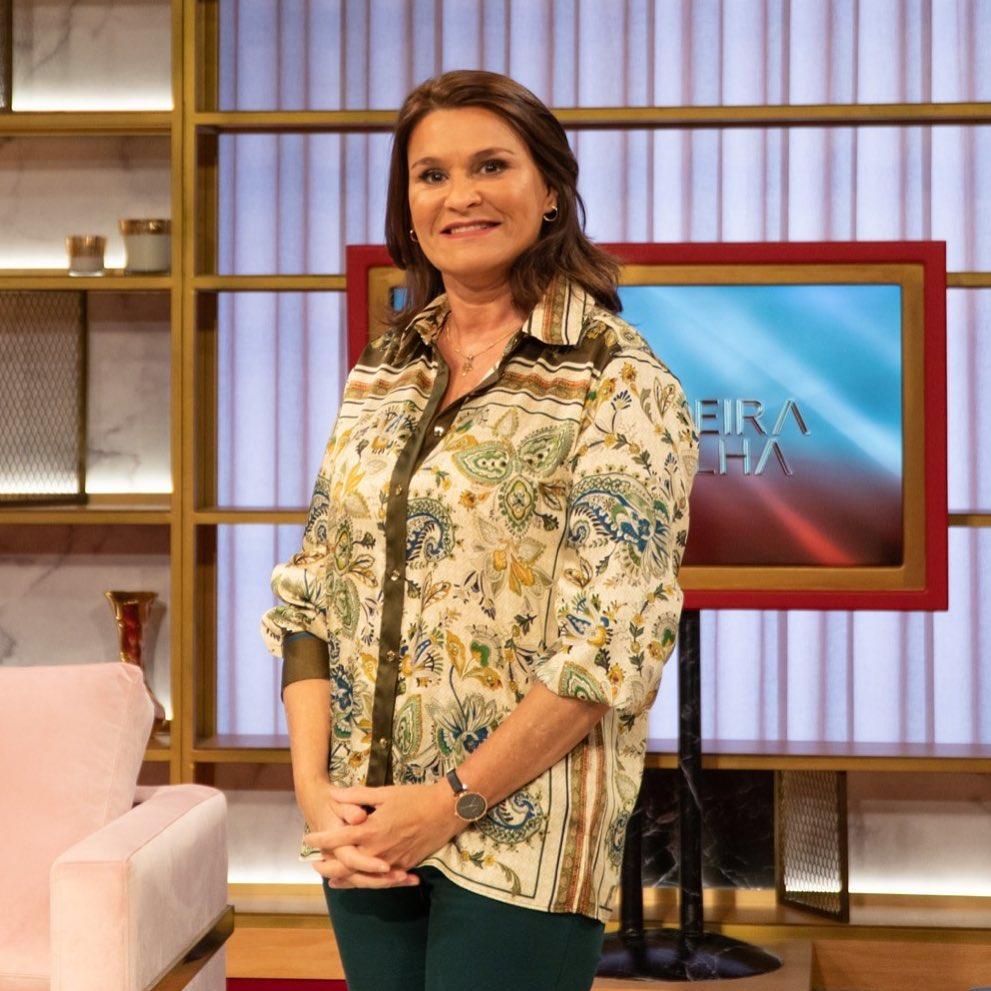 """Rita Salema no programa da SIC Caras """"Passadeira Vermelha"""""""