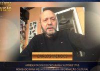 """""""Uma honra"""": Carlos Mendes reage à nomeação de """"Autores"""" nos Troféus Impala de Televisão"""