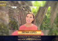 """Veja o vídeo: Fátima Lopes """"muito feliz"""" com nomeação nos Troféus Impala de Televisão"""