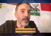 Reação com alerta: Marco Horácio reage à nomeação nos Troféus Impala de Televisão