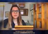 A dobrar: Rita Marrafa de Carvalho reage a nomeações nos Troféus Impala de Televisão