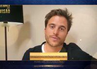 Veja o vídeo: Tiago Teotónio Pereira agradece nomeação nos Troféus Impala de Televisão